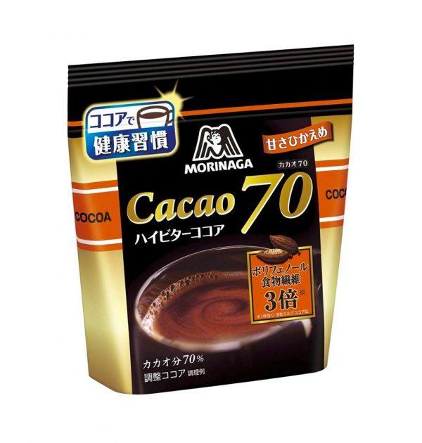 Morinaga Cocoa Hi-Bitter 70 Drink Powder Made in Japan