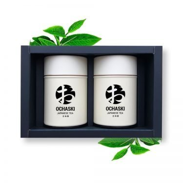 OCHASKI KYOMA + GENMA Box Kyoto Organic Matcha & Genmaicha Made in Japan