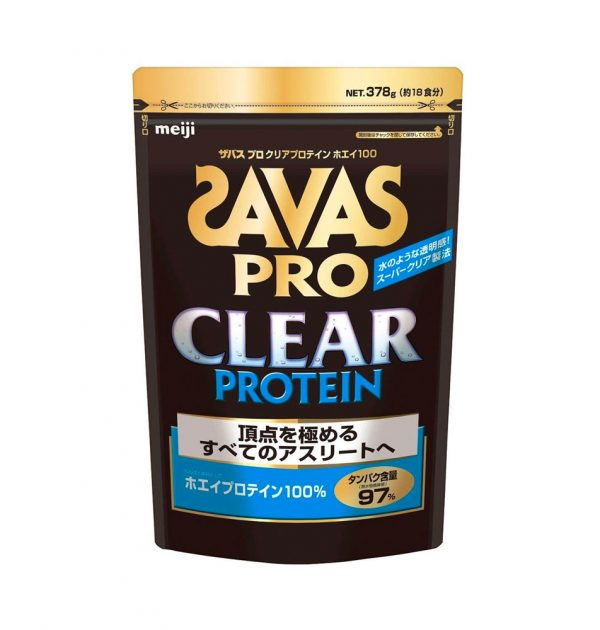 SAVAS Pro Clear Protein Made in Japan
