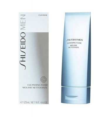 SHISEIDO MEN Cleansing Foam Cleanser for Men Made in Japan