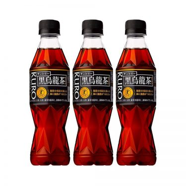 SUNTORY Black Oolong Tea Polymerized Polyphenols Quick Diet Supplement Made in Japan