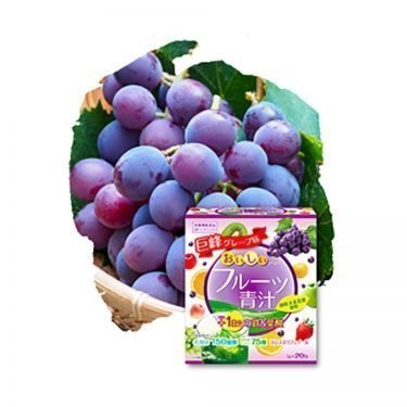 YUWA Delicious Grape Aojiru Made in Japan