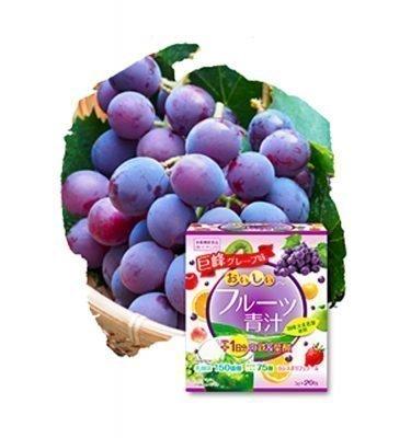 YUWA Delicious Grape Aojiru Made in Japan