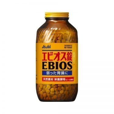 Asahi EBIOS Yeast Acid Bacteria for Indigestion 2000 Tablets Made in Japan
