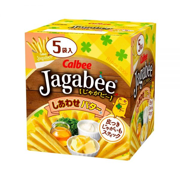CALBEE Jagabee Happy Honey Butter Made in Japan