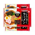 DHC Japanese Diet Konjac Ramen Noodles 65kcal Shoyu Soy Sauce Made in Japan