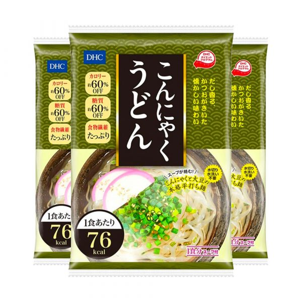 DHC Japanese Diet Konjac Udon Noodles Made in Japan