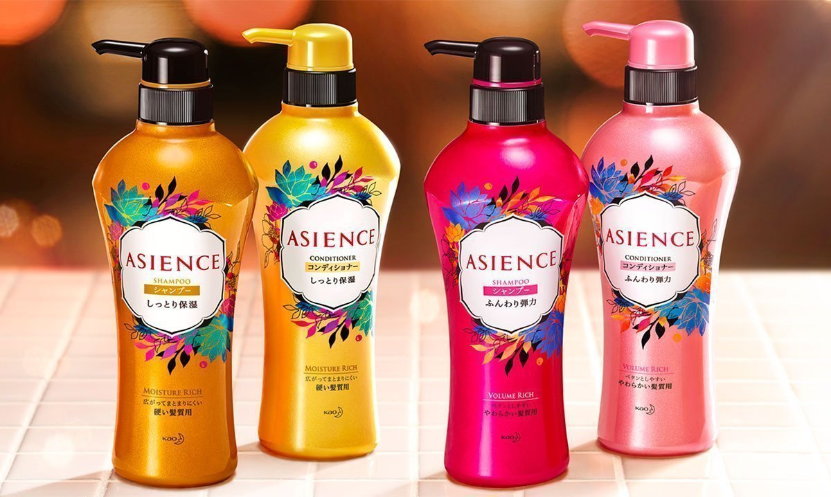 KAO Asience Volume Rich Shampoo Made in Japan