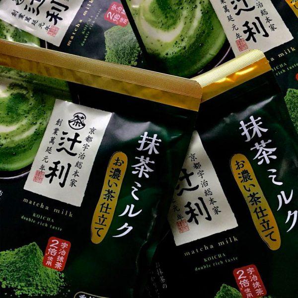 KATAOKA Tsujiri Matcha Milk Koicha Double Rich Taste Made in Japan