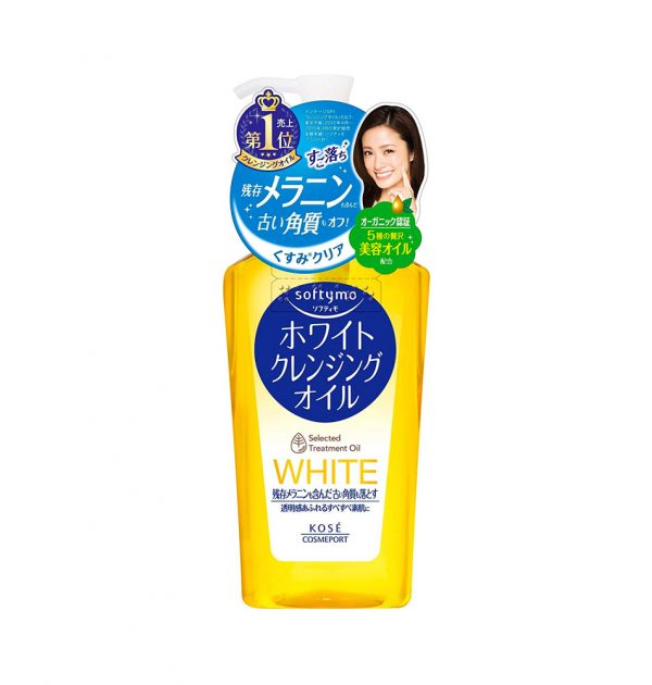 KOSE SoftyMo White Selected Cleansing Facial Wash Oil Makeup Removal Made in Japan