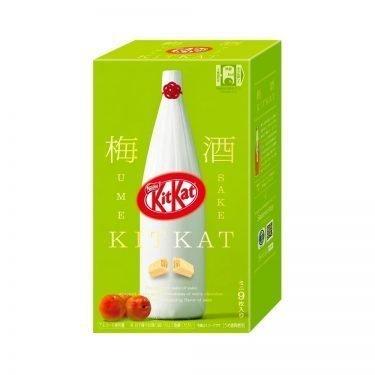 Kit Kat Mini Japanese Sake Umeshu 9 pack Available Only in Japan