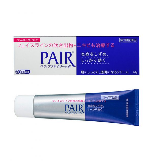 LION Pair Medicated Acne Care Cream Made in Japan
