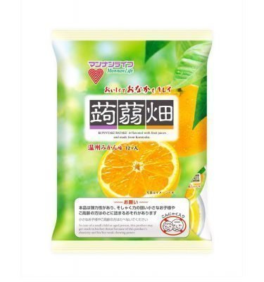 MANNALIFE Konyakubatake Konjac Orange Jelly Diet Dietary Fiber Made in Japan