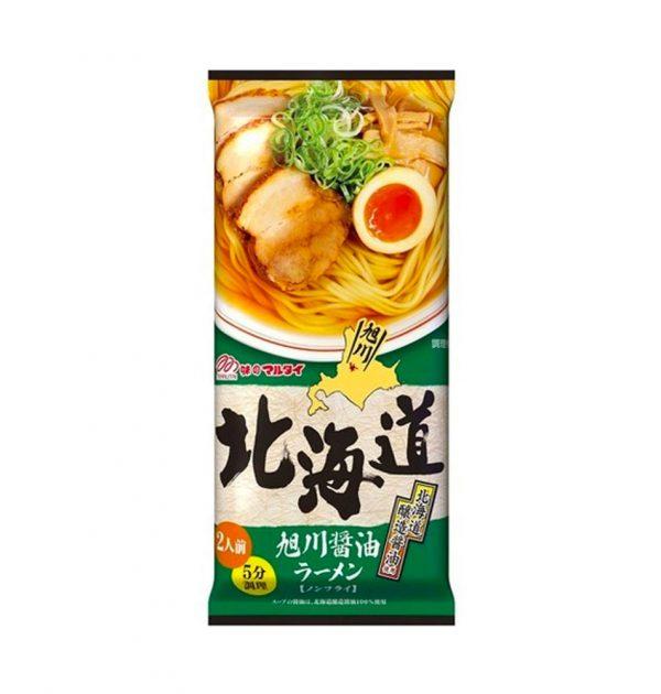 MARUTAI Hokkaido Asahikawa Soy Sauce Ramen Made in Japan
