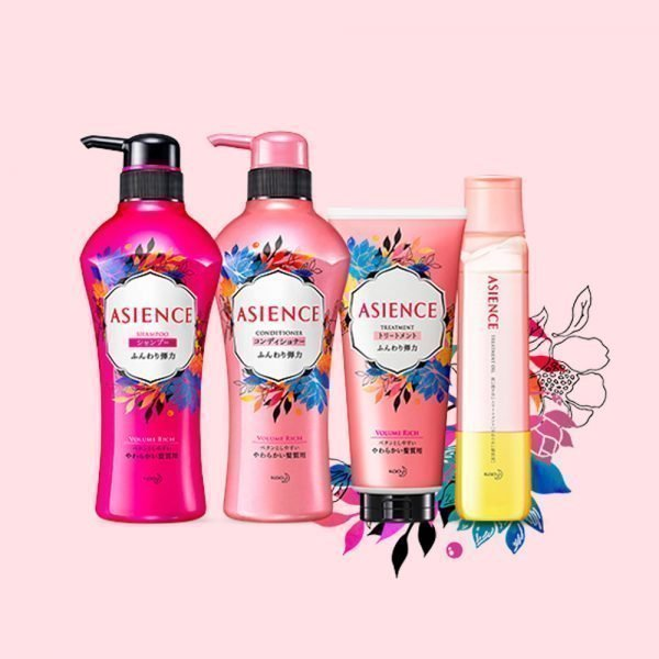 KAO Asience Volume Rich Shampoo Made in JapanKAO Asience Volume Rich Shampoo Made in Japan