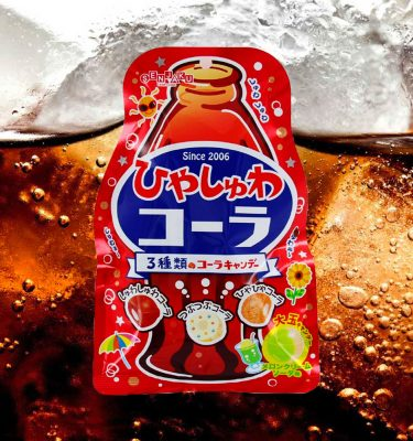 SENJAKU Hiyashuwa Cola Soda Candy Made in Japan