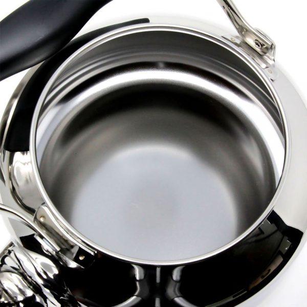 SORI YANAGI Stainless Steel Kettle Mirror Made in Japan