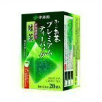 ITOEN Matcha Green Tea Oi Ocha Triangle Teabags Made in Japan