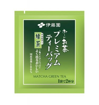 ITOEN Matcha Green Tea Oi Ocha Triangle Teabags Made in Japan