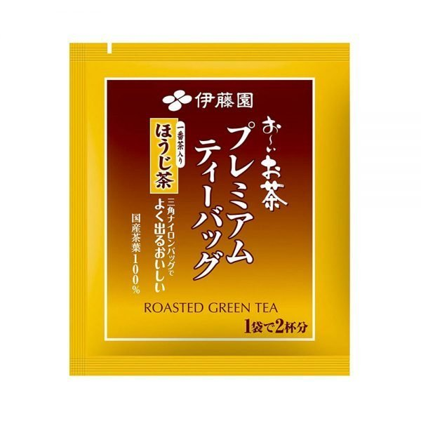ITOEN Roasted Green Tea Oi Ocha Triangle Teabags Made in Japan