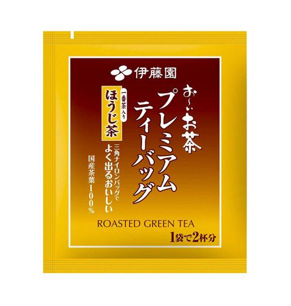 ITOEN Roasted Green Tea Oi Ocha Triangle Teabags Made in Japan
