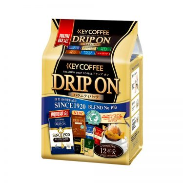 KEY COFFEE Premium Drip On Variety Pack 6 Flavours Made in Japan