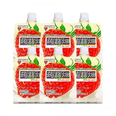 MANNALIFE Konyakubatake Konjac Strawberry Jelly Diet Dietary Fiber Made in Japan