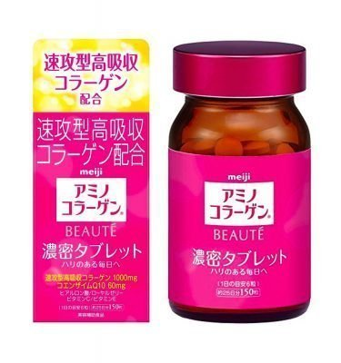 MEIJI Amino Collagen Beaute Tablet Made in Japan