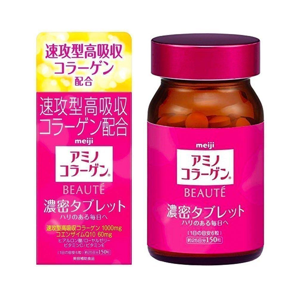 MEIJI Amino Collagen Beaute Tablet Made in Japan