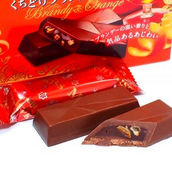 MEIJI Meltykiss Brandy Orange Limited Japanese Edition
