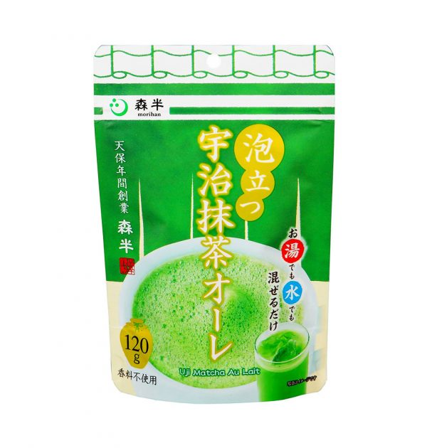 MORIHAN Uji Matcha Au Lait Green Tea Made in Japan