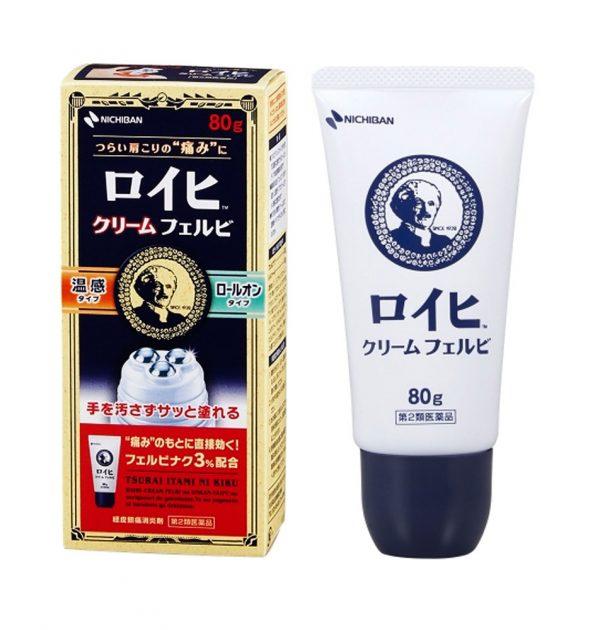 NICHIBAN Roihi Tsuboko Pain Relief Cream Felbi Made in Japan
