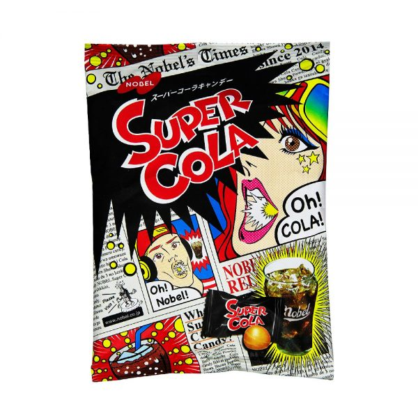 NOBEL Super Sour Cola Candy Made in Japan