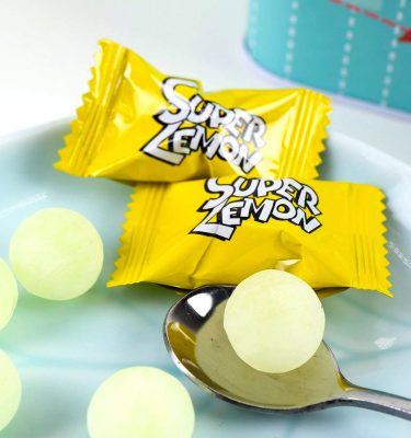 NOBEL Super Sour Lemon Candy Made in Japan