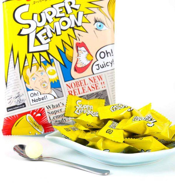 NOBEL Super Sour Lemon Candy Made in Japan