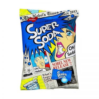 NOBEL Super Sour Soda Candy Made in Japan