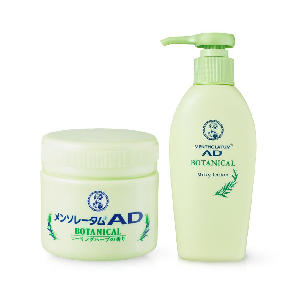 Rohto Mentholatum Ad Botanical Cream 90g Made In Japan Takaski Com