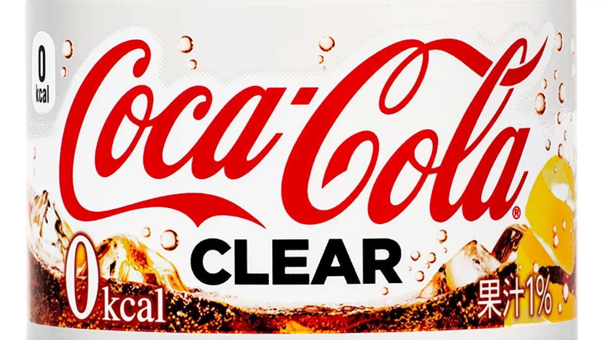 COCA COLA Clear Flavour 2018 Limited Edition Made in Japan