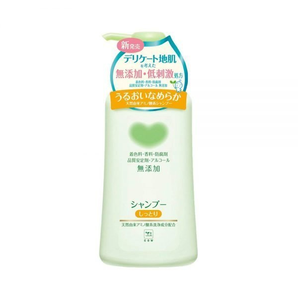 COW BRAND Mutenka Non-Additive Moist Shampoo Made in Japan