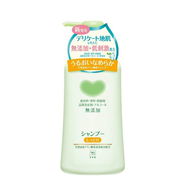 COW BRAND Mutenka Non-Additive Moist Shampoo Made in Japan
