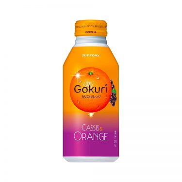 SUNTORY Gokuri Cassis Orange Pulps Nectar Made in Japan