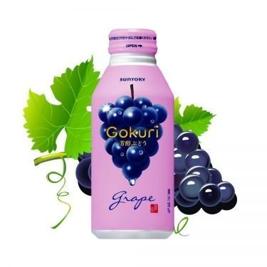 SUNTORY Gokuri Rich Grapes Nectar Made in Japan