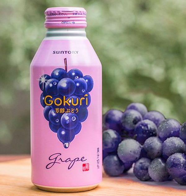 SUNTORY Gokuri Rich Grapes Nectar Made in Japan