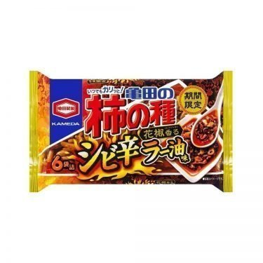 KAMEDA Crackers & Peanuts Persimmon Seed Spicy Shrimp Made in Japan