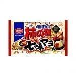 KAMEDA Kaki No Tane Rice Crackers & Peanuts Spicy Shichimi Mayo Made in Japan