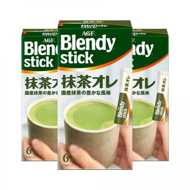 AGF BLENDY Matcha Au Lait Instant Green Tea Latte Made in Japan