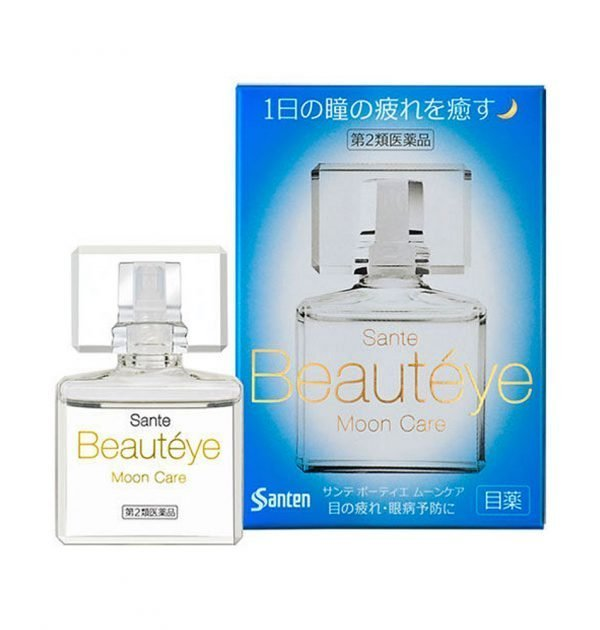SANTEN Beauteye Moon Care Medicated Eye Drop Made in Japan