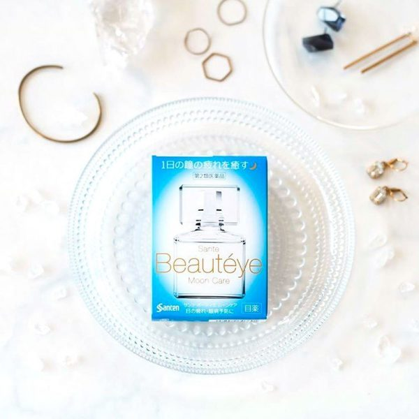 SANTEN Beauteye Moon Care Medicated Eye Drop Made in Japan