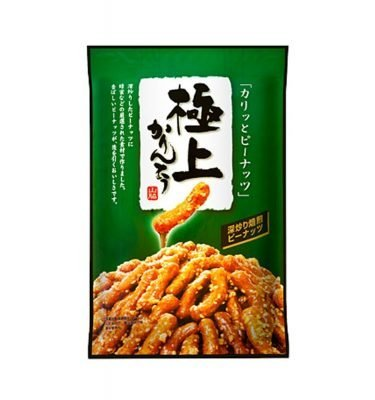 Yamawaki Seika Extreme Peanuts Karinto Made in Japan