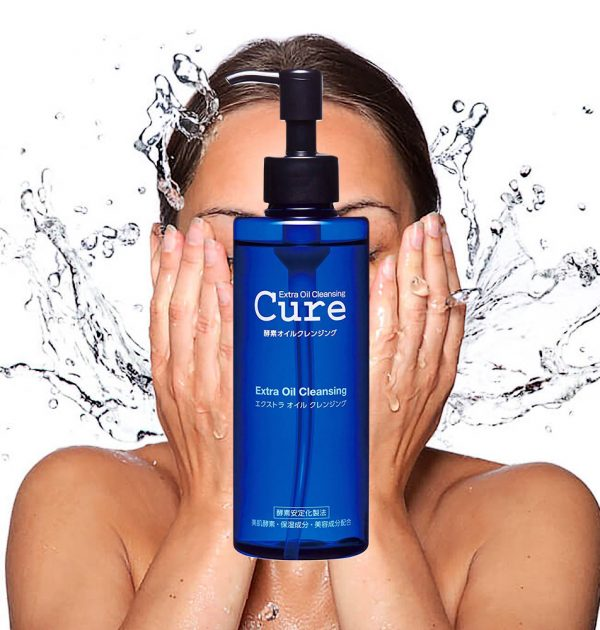 Cure Natural Aqua Gel Extra Oil Cleansing Made in Japan